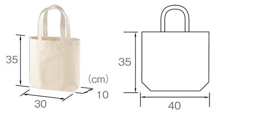 バッグサイズ説明図